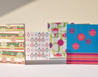 Happy Holidays Cards, Set of 12 - Buy Two Get One FREE Sale