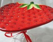 Strawberry-licious Dessert Stand