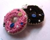 Donut Cellphone Keychain