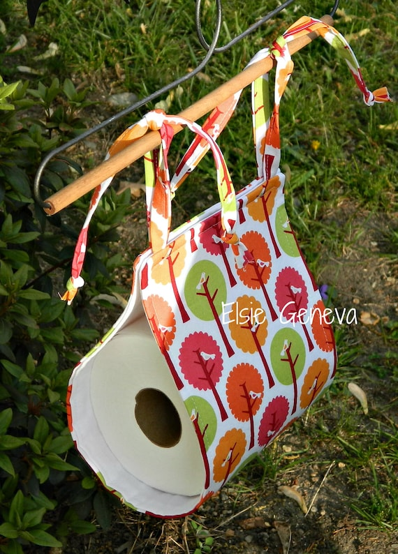 Toilet Paper Holder / Caddy / Hanger Choose Any Fabric in My Shop