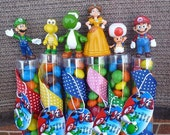 Super Mario  Brothers Birthday Favors