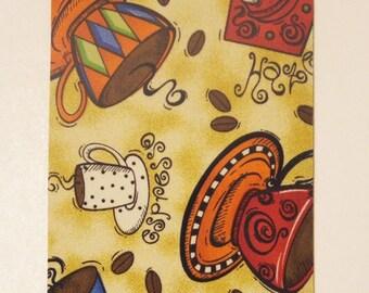 Coffee, Coffee, Coffee half mousepad