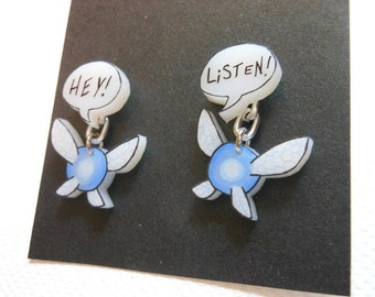 Hey Listen Navi post earrings
