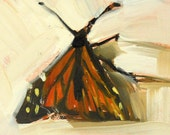 butterfly no. 2 original painting by  moulton aceo
