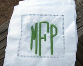 Monogrammed/Personalized Cocktail Napkins