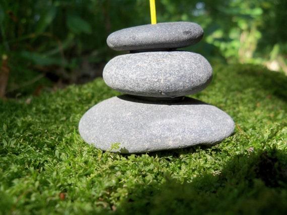 Stone Cairn Zen Stick Incense Holder