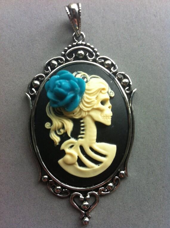 Lolita Skeleton Cameo Necklace