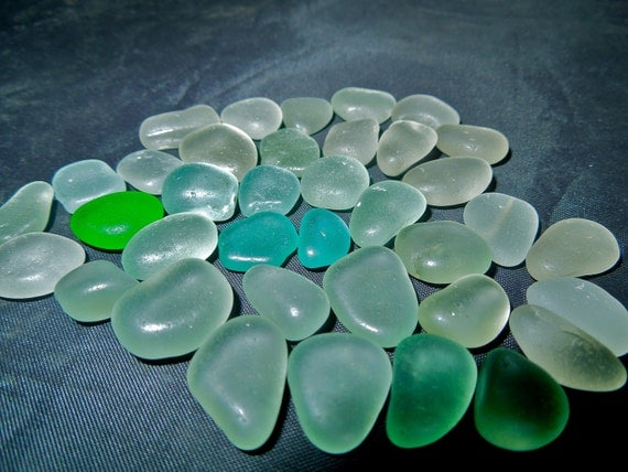 Sea Glass or Beach Glass of HAWAII  SEAFOAM SALE 22 dollars Stunning Shape and Color