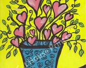 A Big Bunch of Love - 8.5 x 11 print