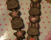 Silicon Mold for Chocolate - Cute Animal Stick Chocolate