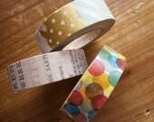 Set of 3 Masking Tapes