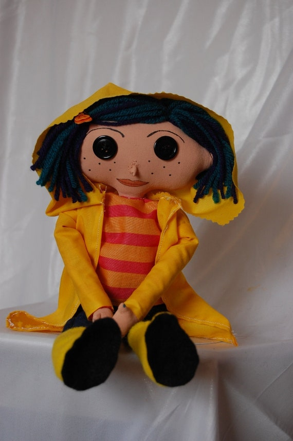 Coraline Button Eye Doll Inspired By One Of My Favorite