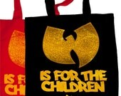 wu tang is for the children tote