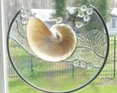 Clear textured Sculpture