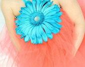 Fun flower tutu dress