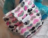 Organic Cotton Newborn Diaper with Umbilical Cord Cutout