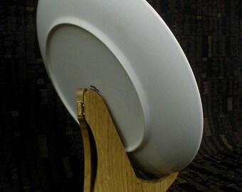 Plate Display Rack Hardwood Red Oak
