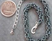 Bracelet - Byzantine - Anodized Titanium Teal