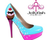 Sprinkles and cupcake shoes (colors)