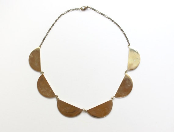 Scallop Collar Necklace (large)