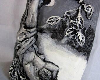 Relief Sculpture The Tarot -Hanged Man