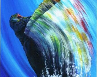 Rainbow Warrior... whale