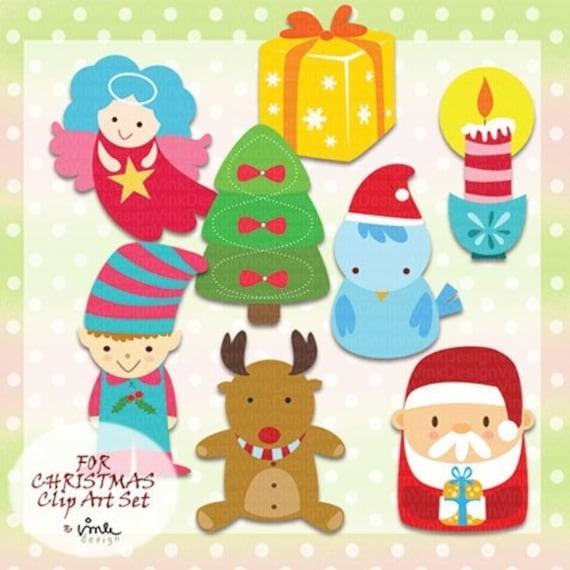 SALE - For CHRISTMAS - Clip Art Set - B25