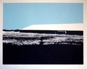 COOP III - Limited Edition Landscape Screen Print - 12 x 17