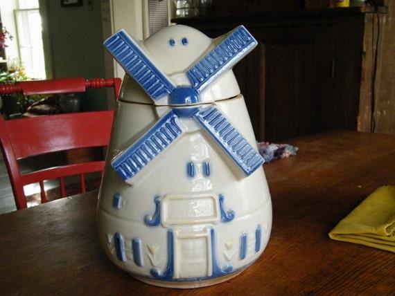 1930's FAP Co. Windmill Cookie Jar