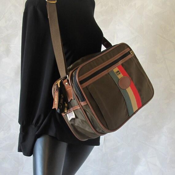 Vintage 70's Travel Bag Olive