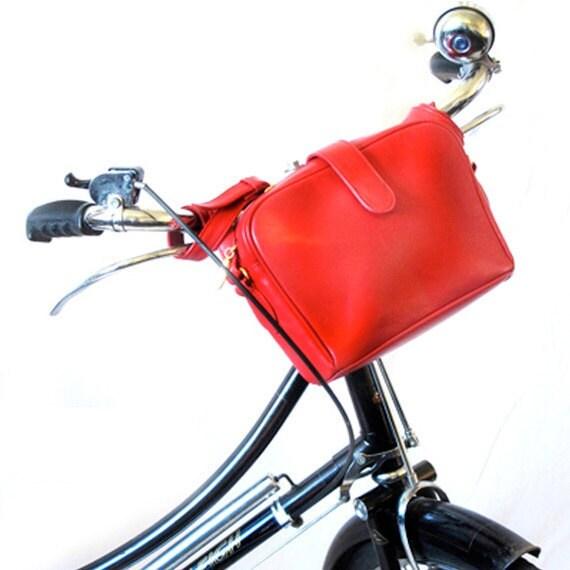 Bicycle HandleBar Bag - Upcycled