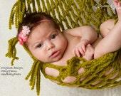 Newborn Infant Hammock Pod Photo Prop in ANY COLOR - Photography Baby Prop - Newborn Photography all Babies - Chunky Hammock Newborns