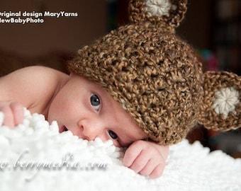 Bear Baby HAT in NUTTY Photo prop, Photography Bear Hat Newborns, NewBaby Gift Bear Hat, Costume Bear Hat, Bear Baby Hat, Bear Newborns Hat
