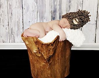 Pom Pom Baby HAT, Photo prop Newborn Hat, Baby Hat, GIFT Hat New Baby Shower, Photo prop Baby Hat ready to ship, New Baby Photography Hat
