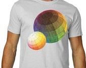 Color Theory TShirt Rainbow Science Tee MENS shirt