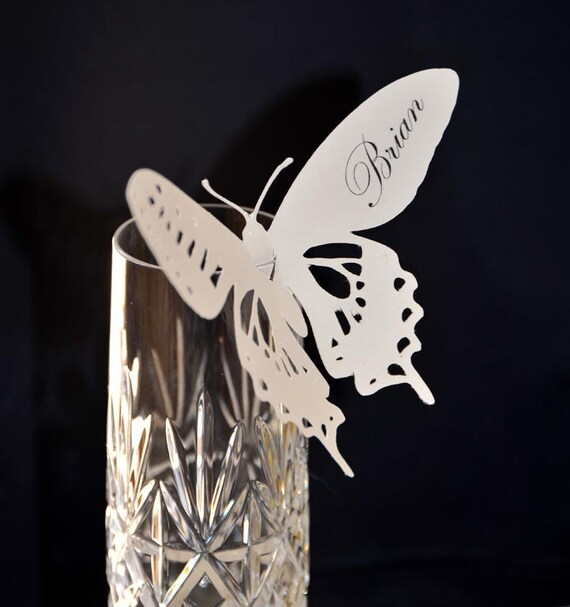 Butterfly Escort or Place cards