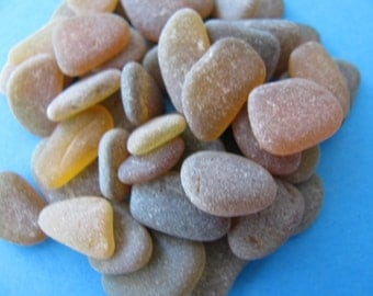 Craft Supplies Brown Beach Glass, Sea Glass, Seaglass, Beach Glass Jewelry Supply, Genuine Sea Glass Jewelry Making