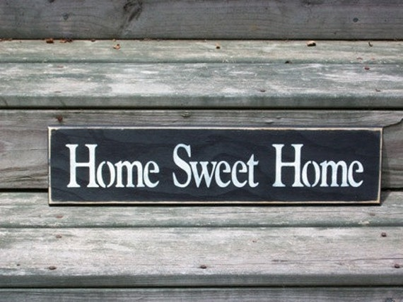 Items similar to Home Sweet Home - Primitive Country ...