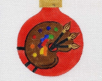 Artist Needlepoint Ornament - Jody Designs B33