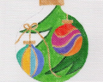 Ornaments on the Tree Needlepoint Ornament - Jody Designs B179