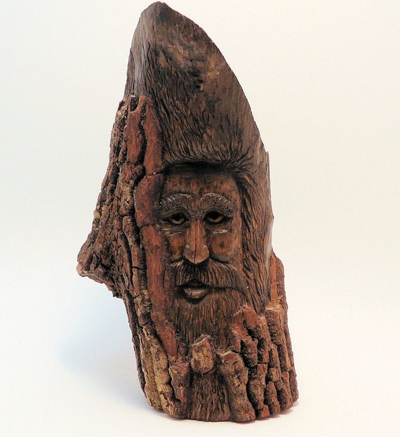 Hand Carved Wood Spirit - Carlton
