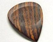 Wood Guitar Pick - Handmade Exotic Cocobolo Rosewood Premium Guitar Pick
