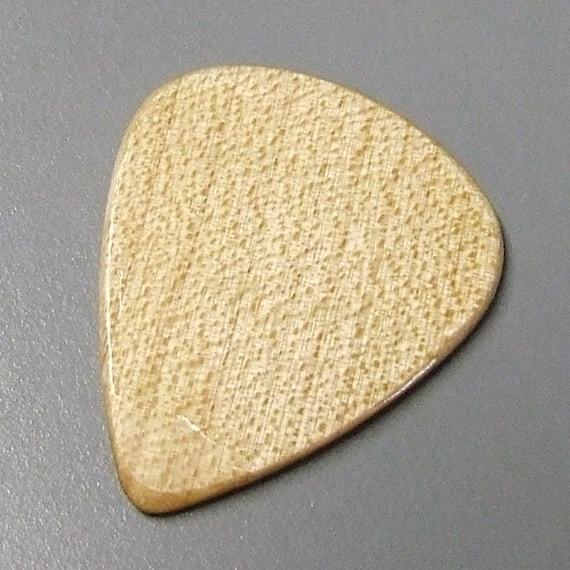 Wood Guitar Pick - Handmade Domestic Hard Maple Premium Guitar Pick