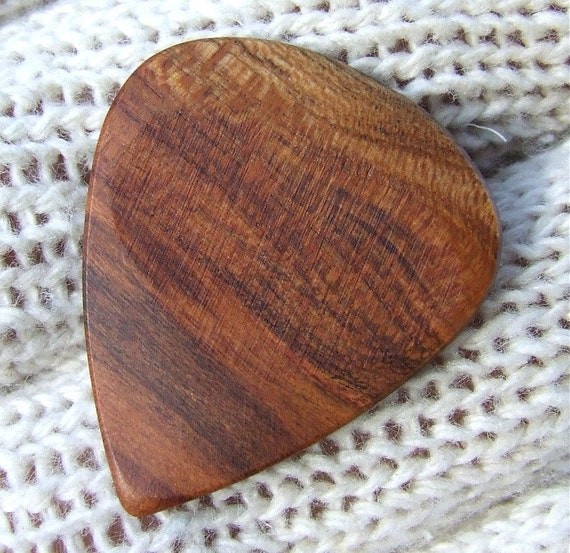 Wood Guitar Pick - California Apricot Wood Handmade Premium Guitar Pick