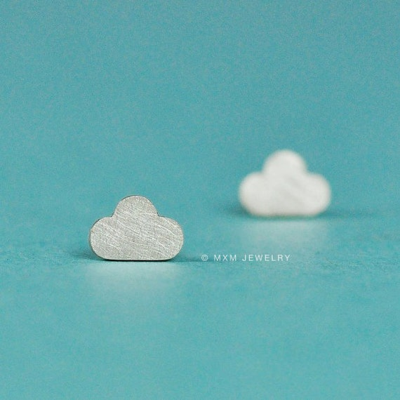 https://www.etsy.com/listing/62299619/tiny-cloud-stud-earrings