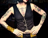 Reserved Listing for MorfineDoll - Shitsville Clothing Pinstriped Vest