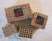 4 Craft Mounted Stamps PSX  All Night Media Stamp Squares Celtic FREE Shipping