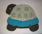 Quilt - Baby Turtle Rag Quilt