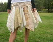 made to order Funky Eco Fairy Pixie Mini Skirt