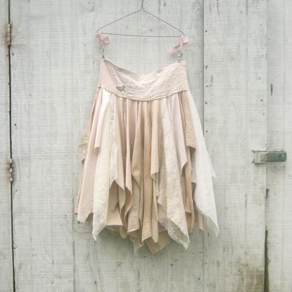 Ranch / Beach Style Wedding Pixie Long Skirt